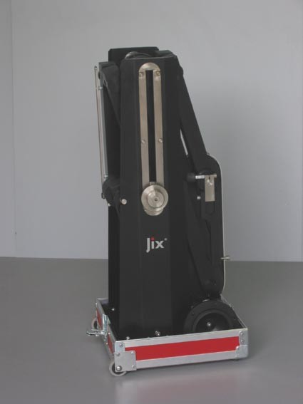 jix in flightcase bottom